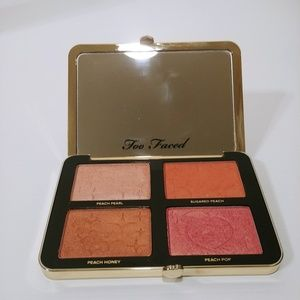 Too Faced Sugar Peach Wet and Dry Palette